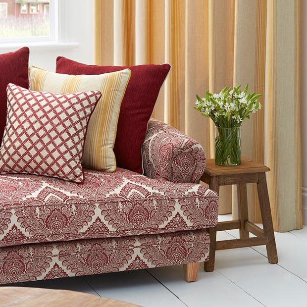 Warwick Fabrics LUXEMBOURG Modern upholstery fabric