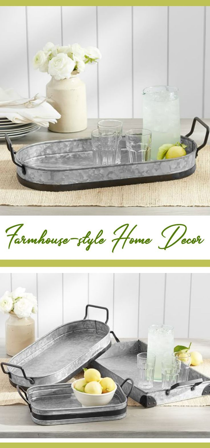 Serve up farmhouse style with this rustic tray. From breakfast in ...
