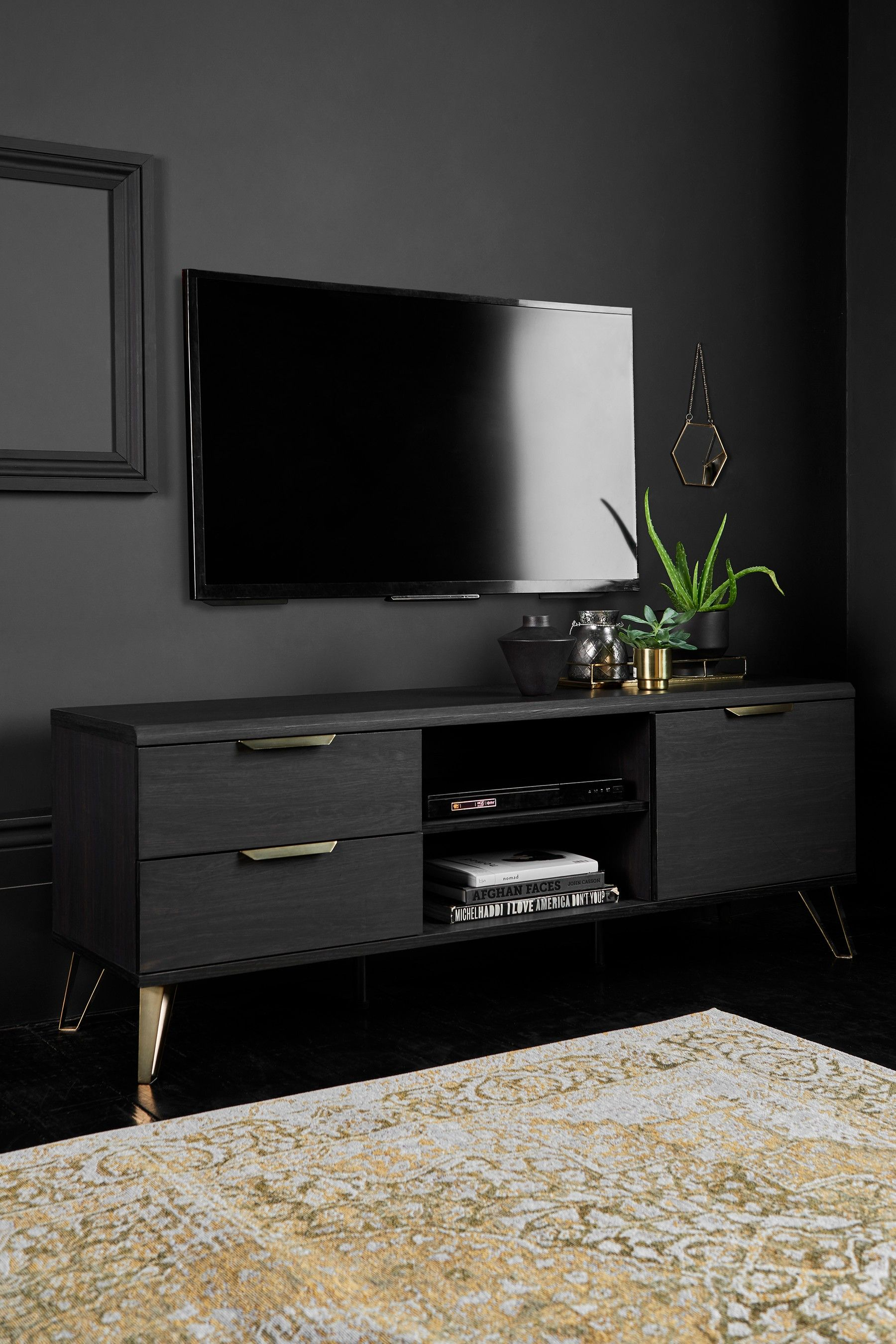 Venetia Wide Tv Stand Living Room Tv Stand Tv Stand Decor Living Room Living Room Tv