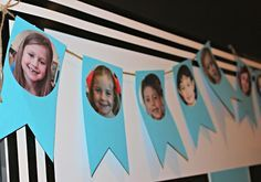 Creating Classroom Community- these banners would be a great first day of school activity!
