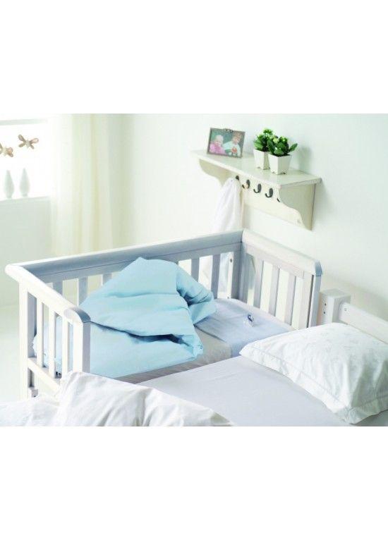 Girls Trolls Bedroom: Troll Bedside Crib-White