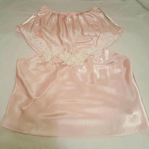 Victoria's Secret Lingerie Camisole nighty, silk with lace and beads Victoria's Secret Intimates & Sleepwear Chemises & Slips