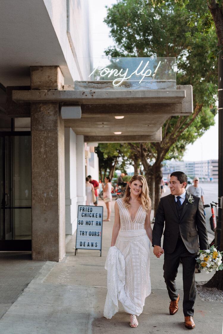 The Line Hotel Austin Wedding Best Modern TX Wedding