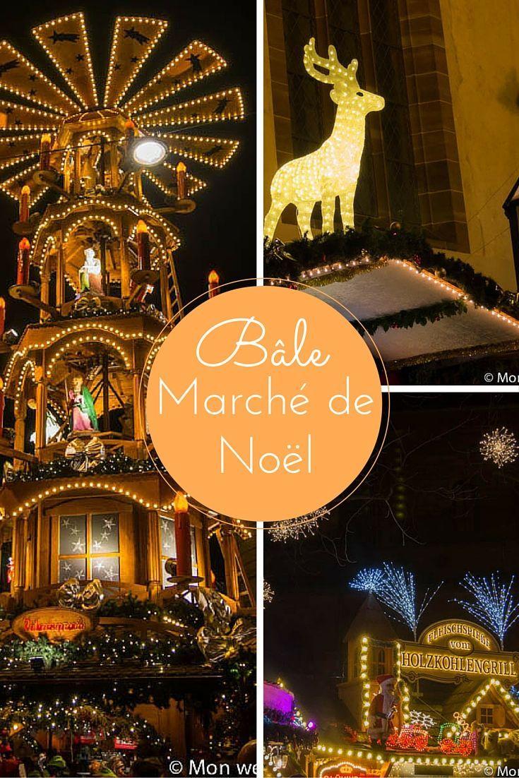 Marché de Noël de Bâle (Suisse #marchédenoel Marché de Noël de Bâle en Suisse #marchédenoel