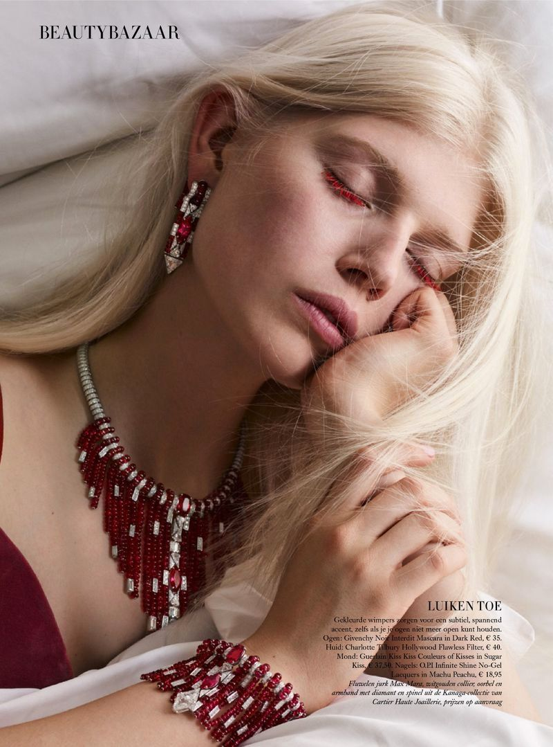 Photo of Ola & Naro Are Sleeping Beauties in Harper's Bazaar Netherlands