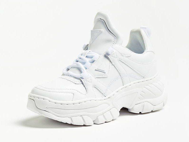 eb824256c0b1 SNEAKERS BLUSH INSERTIONS VERNIES Blanc GUESS - #BasketsFemme #Guess  #BasketsGuess #sneakersGuess #sneakers #baskets #mode #tendances #fashion  #chaussures # ...