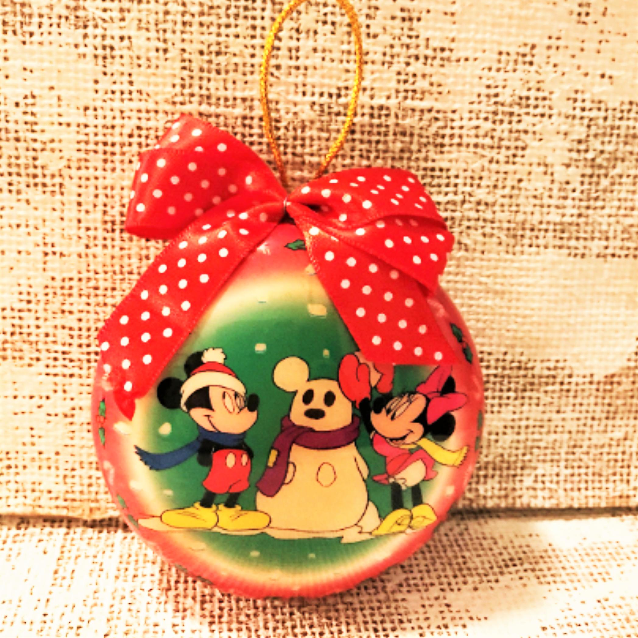 Mickey Mouse Christmas Ornament Mickey Minnie Mouse Disney Etsy In 2020 Mickey Mouse Ornaments Mickey Mouse Christmas Ornament Mickey Mouse Christmas