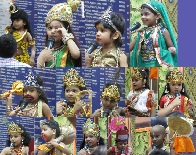 Sri Kanyaka Parameswari Temple, Parrys, Chennai - Fancy Dress competition for kids