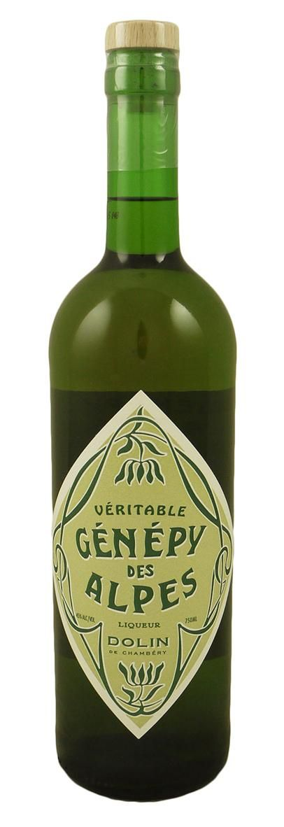 Genepy is famous as the primary alpine herb used to create the legendary Chartreuse.  Traditionally bottled on its own by a few select producers, Chez Dolin offers this classic example dating back from their 1821 recipe. Pale green and yellow in color, the nose is dominated by the concentrated, pungent, herbaceous nature of the herb, with a sweet mouth coating on the palate that transitions to a long, warming minty, candy cane, and lavender finish.