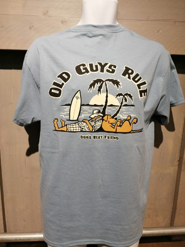 Dog's best friend - Old Guys Rule t-shirt #oldtshirtsandsuch