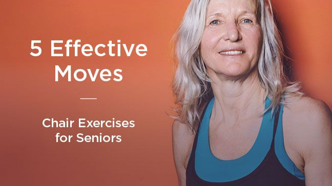 5 Effective Chair Exercises for Seniors  sc 1 st  Pinterest & Chair Yoga for Seniors: Seated Poses | Chair exercises Exercises ...