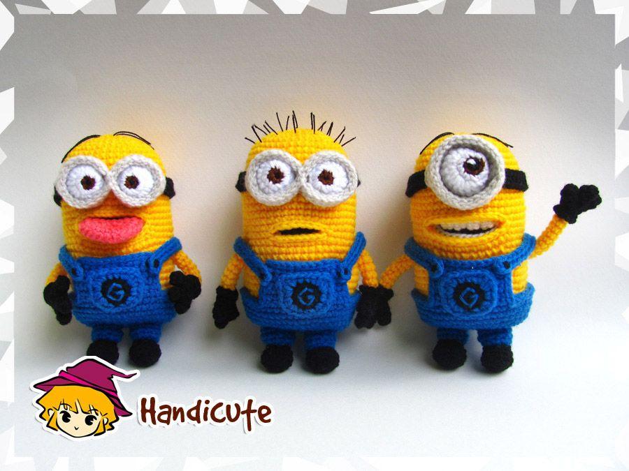 patron crochet minion (6) | Tricot - Crochet etc. | Pinterest | Häkeln