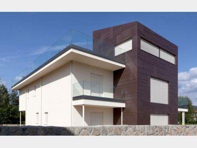 Einfamilienhaus modern pultdach  Riegelbau Design - #Einfamilienhaus von Rubner Haus AG | HausXXL ...