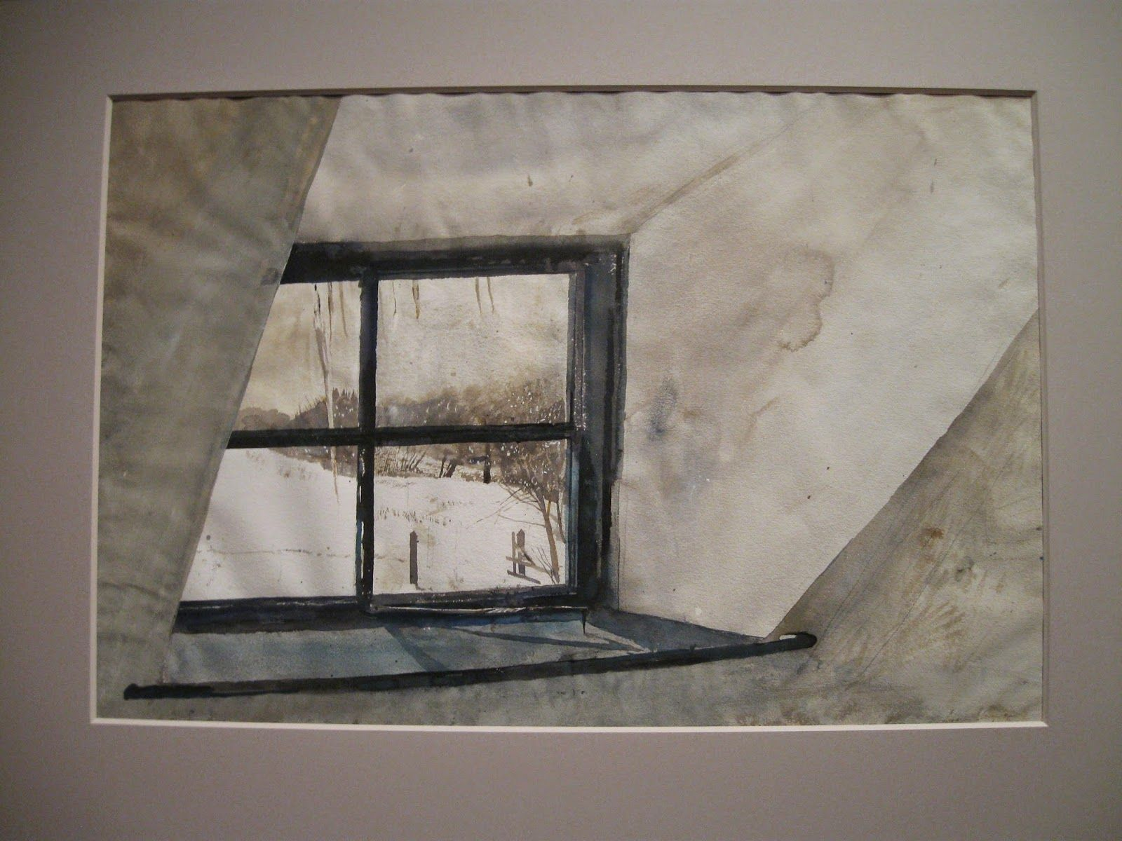 Andrew Wyeth Cold Spell 1965 Private Collection Andrew Wyeth