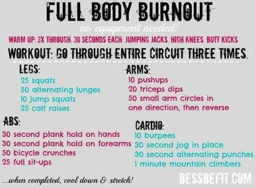 Awesome at home workout.