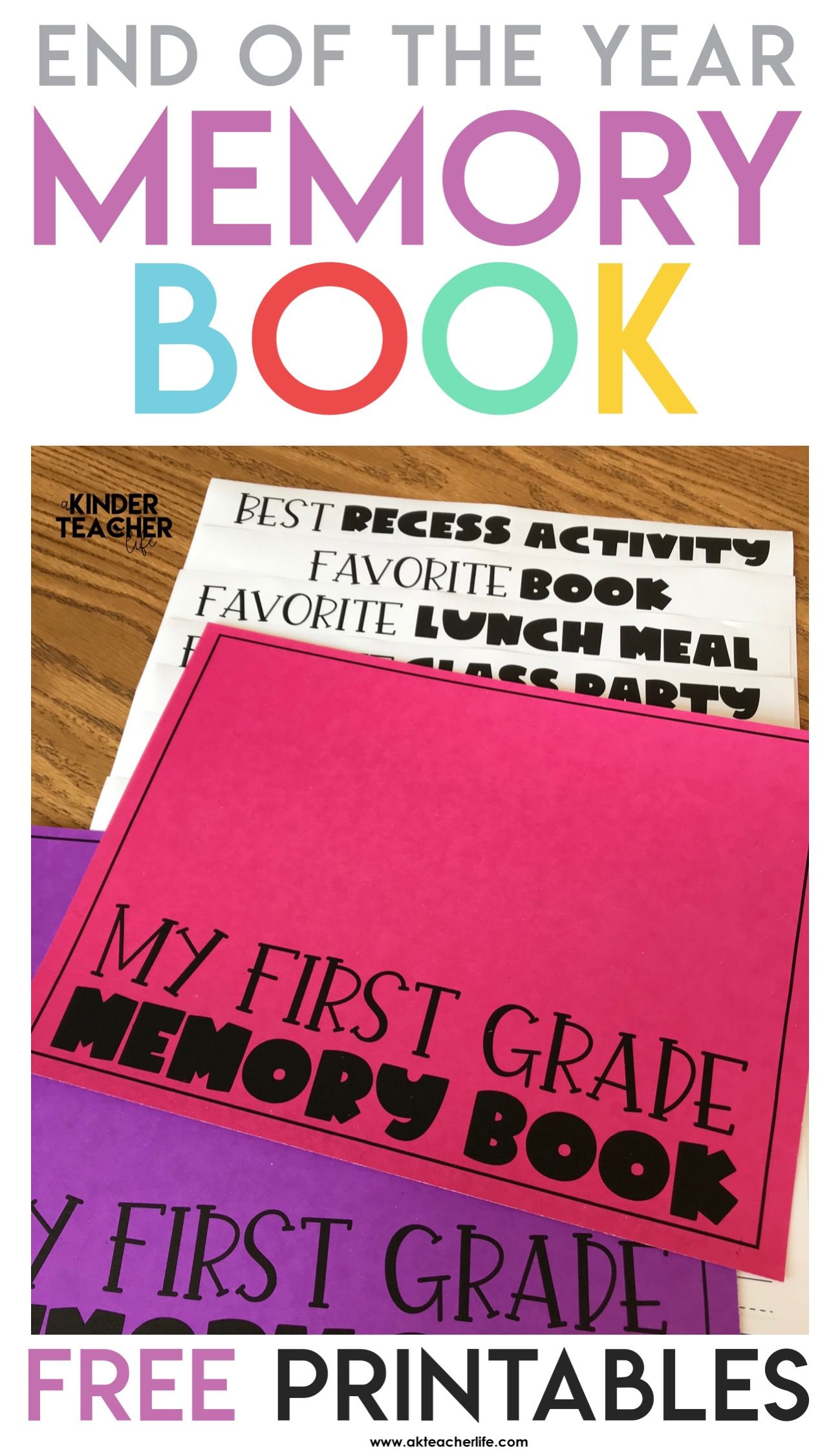 Another Free End Of The Year Memory Book