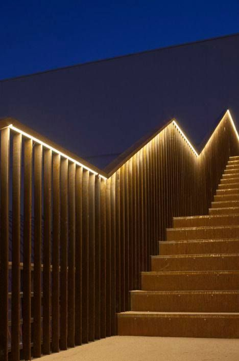 Genialespropuestasdeiluminacionexteriordecasas48 Lighting Fascinating Basement Lighting Design Exterior