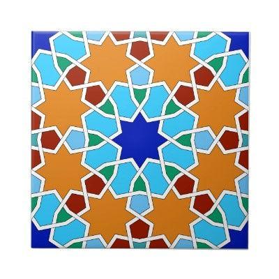 Ic Geometric Pattern Tile