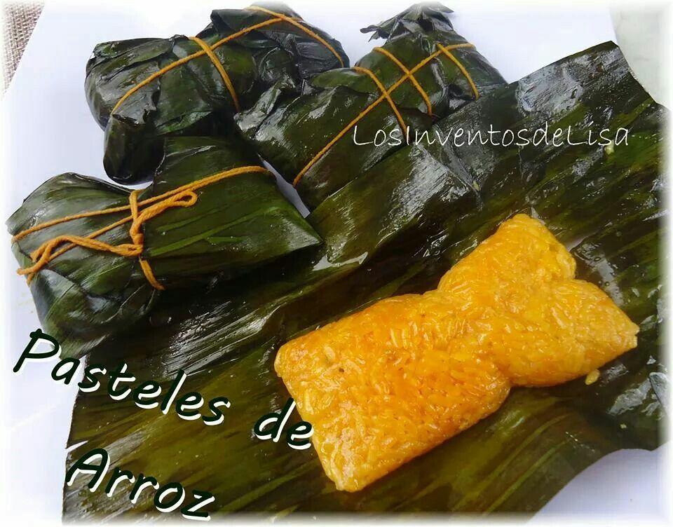Pasteles de arroz! Al estilo puertorriqueno