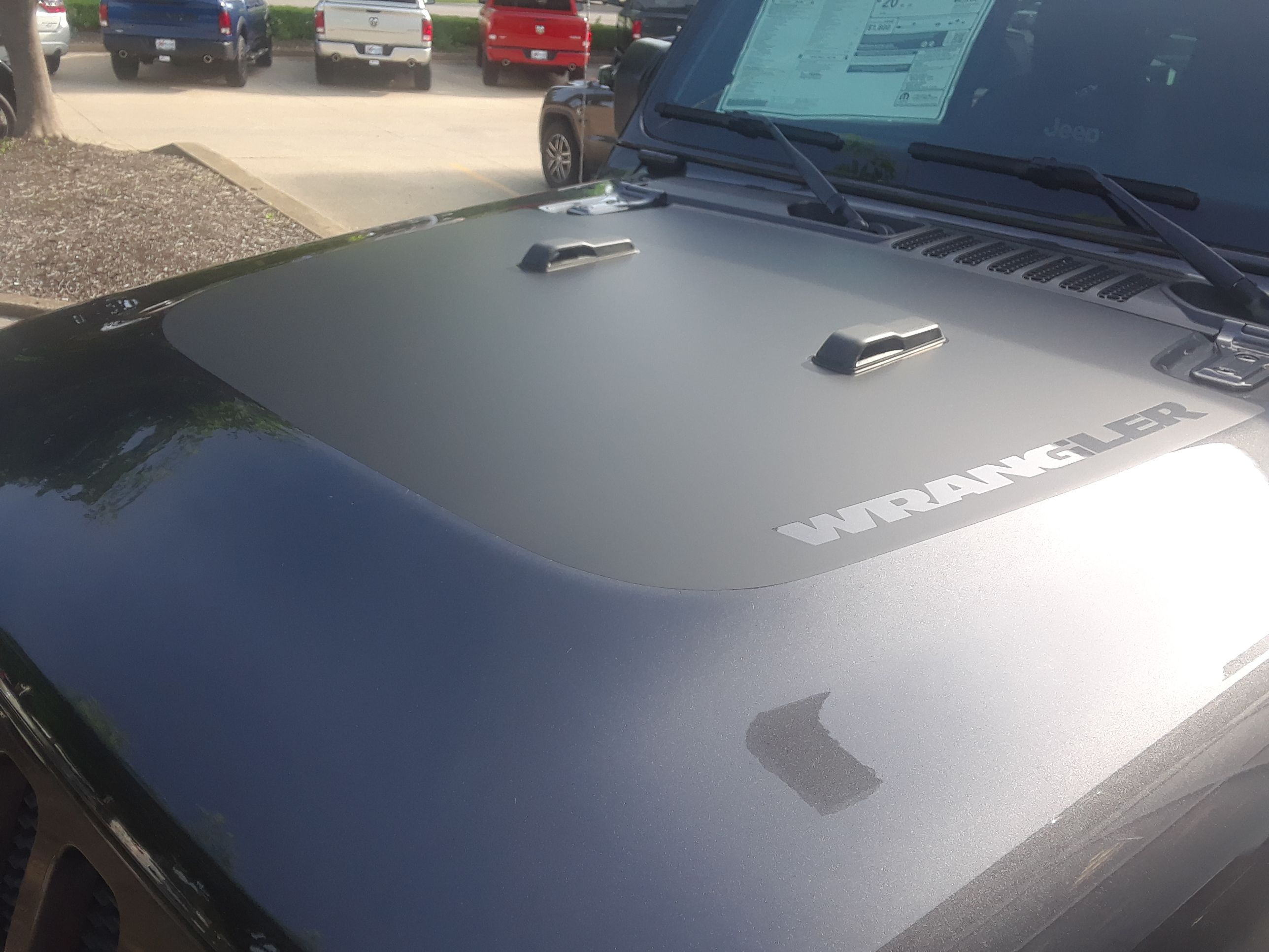 2019 Jeep Wrangler Jl Hood Stripes Sport Hood 2018 2020 3m Or