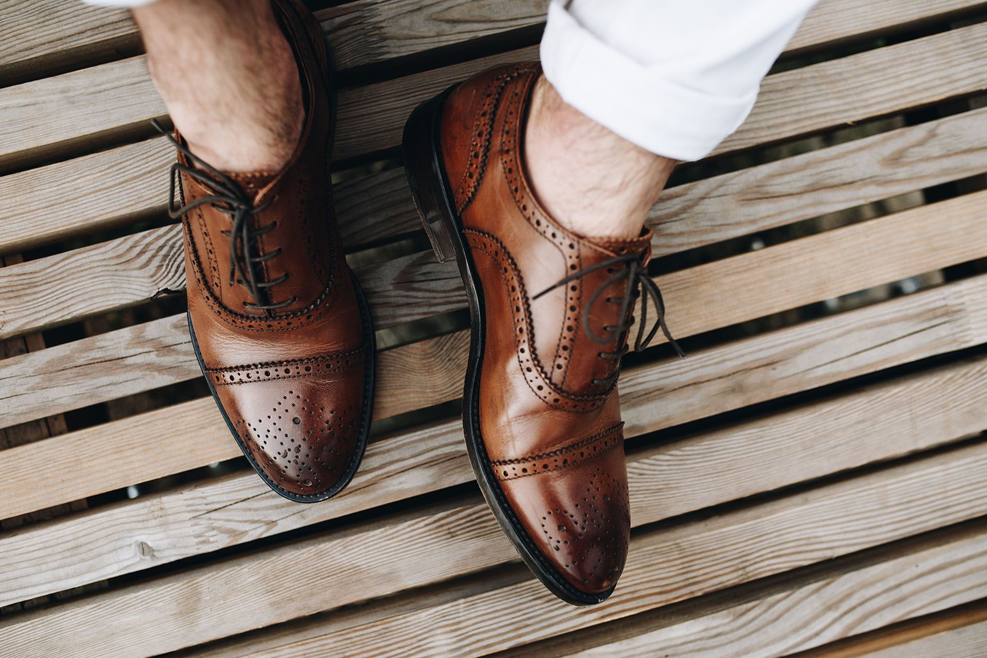 Buty Meskie Oksfordy Partenope Made In Italy Cielece Oksfordy Koniakowe Oksfordy Oksford Semi Brogue Skorzane O Dress Shoes Men Dress Shoes Oxford Shoes