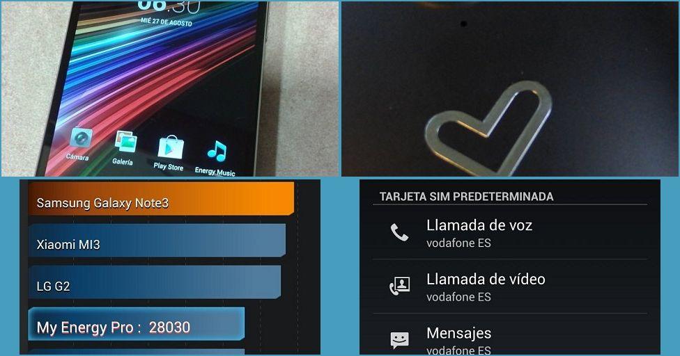 ¡Lo hemos probado! Energy Phone Pro un terminal de gama alta muy economico