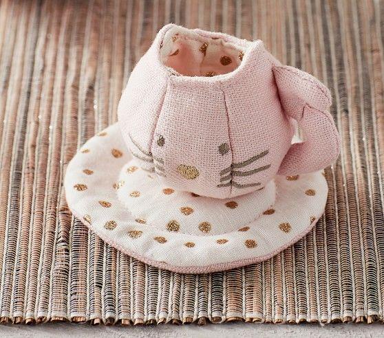 Kitty Soft Tea Set Tea Set Pottery Barn Kids Kitty