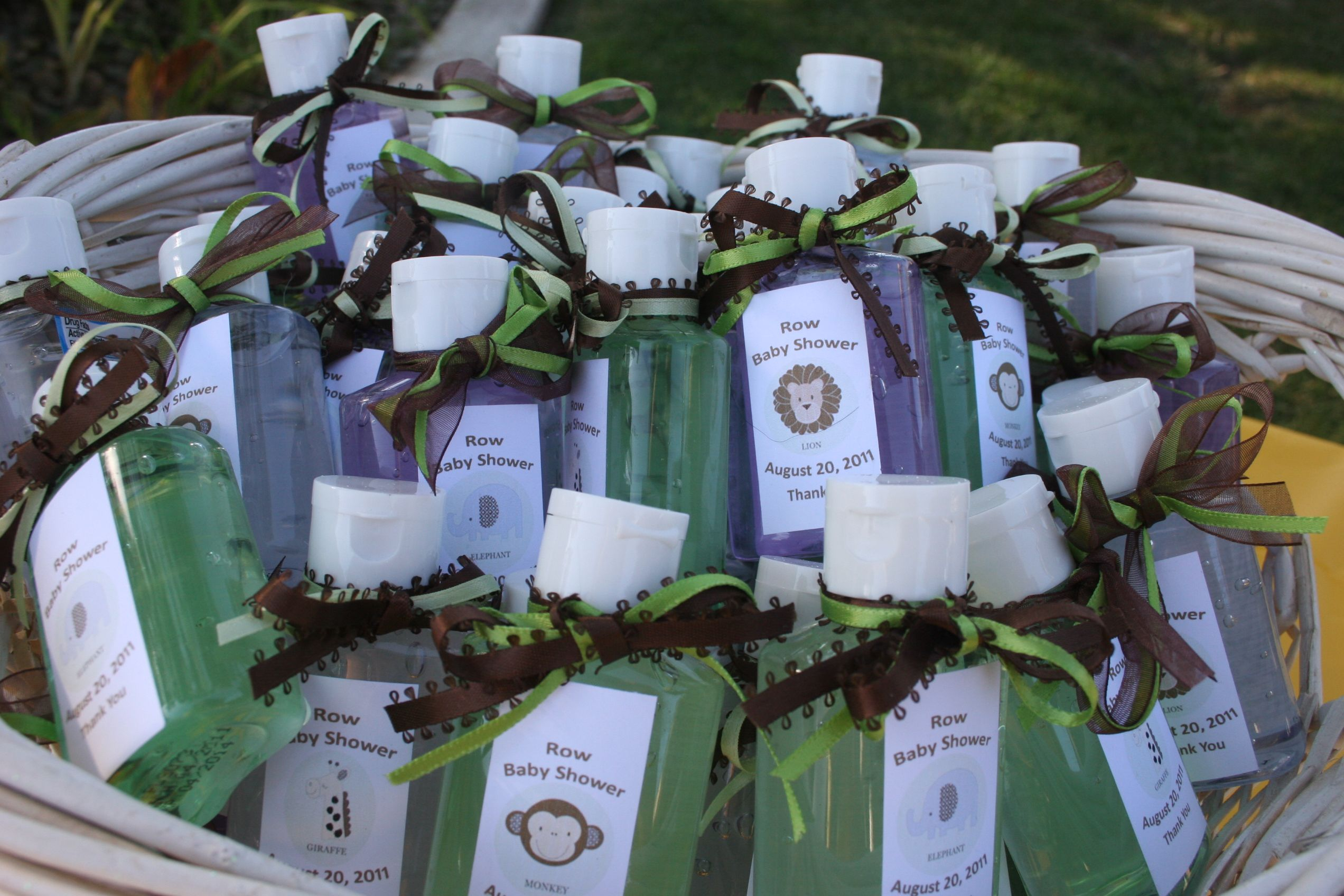Personalized Expressions Hand Sanitizer Favors Graduation Design