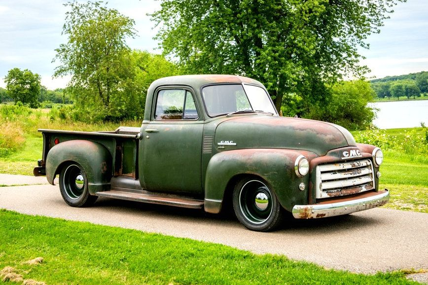 Build A Gmc Truck >> The Way To Build Rough Finds 1951 Gmc Truck Gmc Trucks