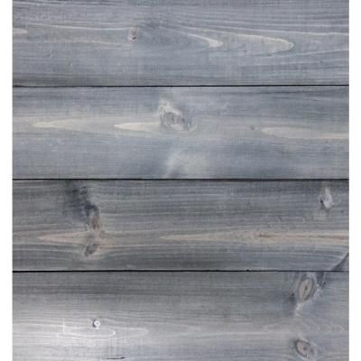 Timeline Wood 11 32 In X 5 5 In X 47 5 In Distressed Grey Wood Panels 6 Pack 00957 The Home Depot Grey Wood Wood Paneling Paneling