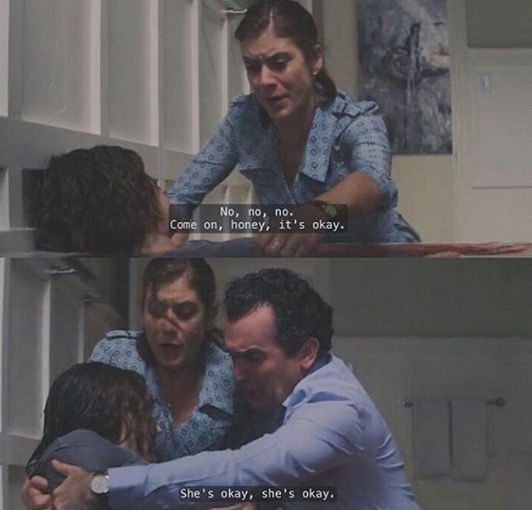 I've often felt that I had no other option left. But eveytime, I think about how my parents would react to finding my body. This scene gave me a glimpse of what it would be like and I decided that I could never do something like that to my family. Because of this, I choose to live.