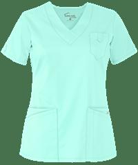 acef1a79d4e UA Butter-Soft STRETCH Scrubs V-Neck 5 Pocket Top | Nursing | Scrubs ...