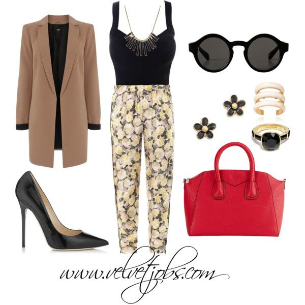 """Tip Toe Through the Tulips"" by velvetjobs on Polyvore"