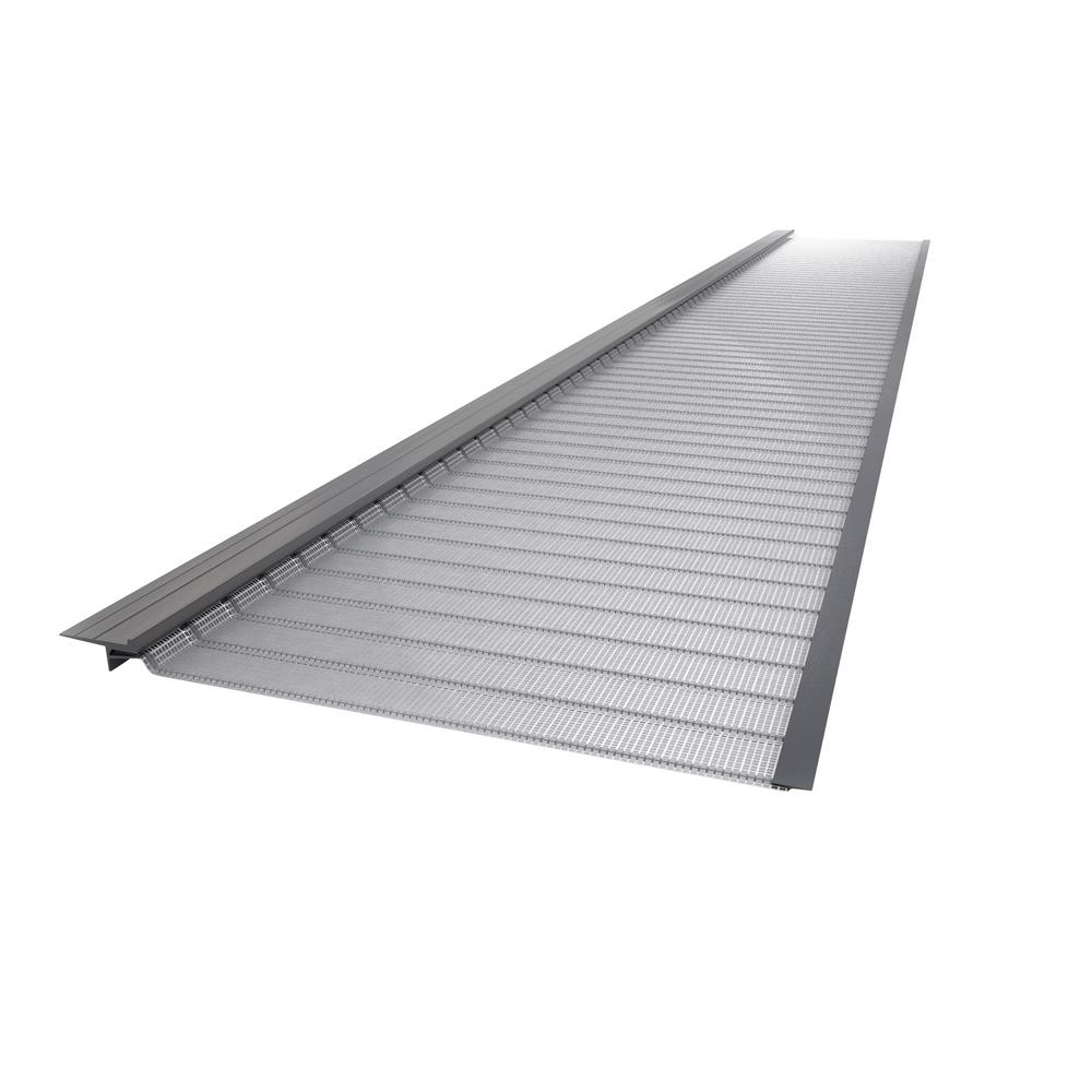 Gutter Guard By Gutterglove 4 Ft Stainless Steel Silver 6 In