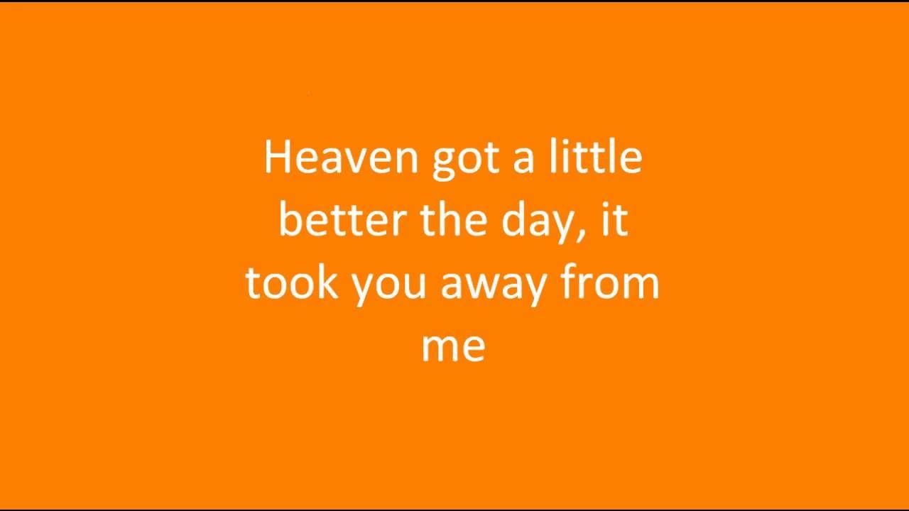 Heaven got another angel lyrics  Angels lyrics, Grief share