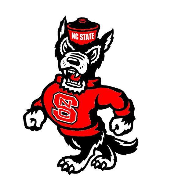 North Carolina State Wolfpack Cornhole Decal North Carolina State Wolfpack Nc State Wolfpack Nc State
