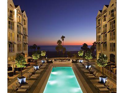 loews santa monica beach hotel santa monica los angeles. Black Bedroom Furniture Sets. Home Design Ideas