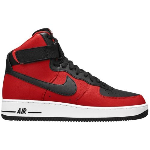 cheaper 0d80e 906df Nike Air Force 1 High 07 - Men s - Basketball - Shoes - Black University Red