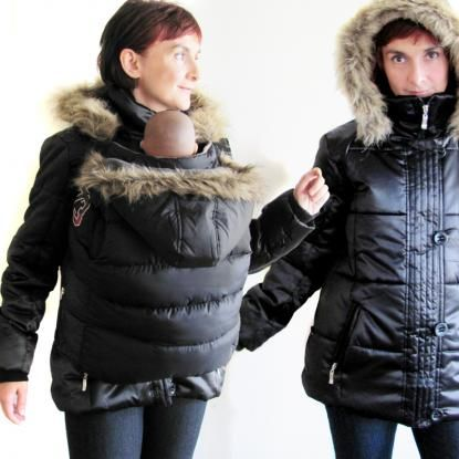 153d64836 winter babywearing coat. diy instructions.....a must in montana ...