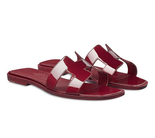 Womens Ladies Natural Calf Leather Slipper Mules Flip Flops Sandals