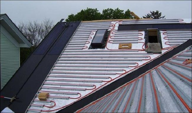 Integrated Solar Roof Installation Solar Thermal Solar Roof