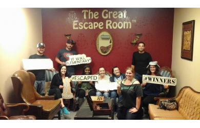 Pay $14 for admission to the Great Escape Room ($28 value)! Can you escape before time runs out?