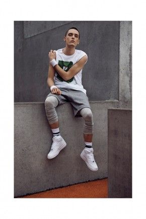Sporty Style: Truls Nergaard for Brand8 Spring/Summer 2014