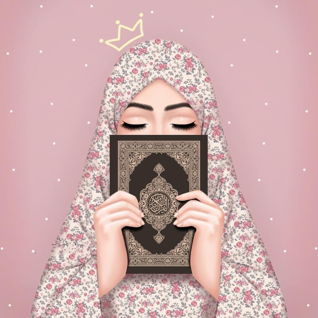 Image Discovered By Rose Of Paradise Find Images And Videos About Peace Islam And Hijab On We Heart It The App T Hijab Cartoon Islamic Cartoon Islamic Girl
