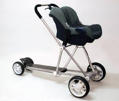 patinete carrito de bebé
