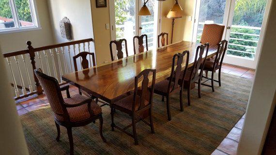 Parota Slab, Dining Room Table. Perfect45degree