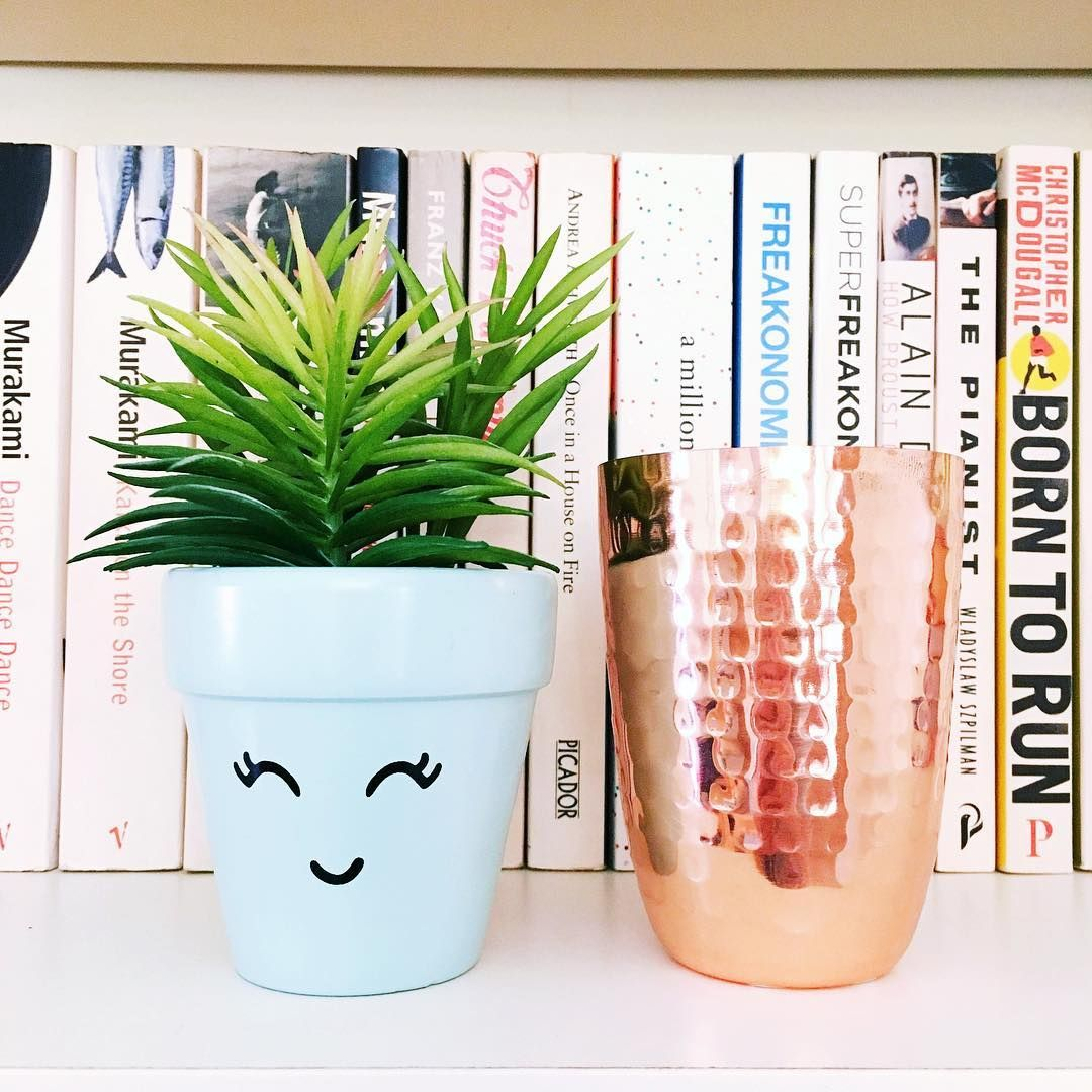 New happy little plant pot from @newlookfashion 🌵 [#home #interior #plant #pretty #copper #newlook]