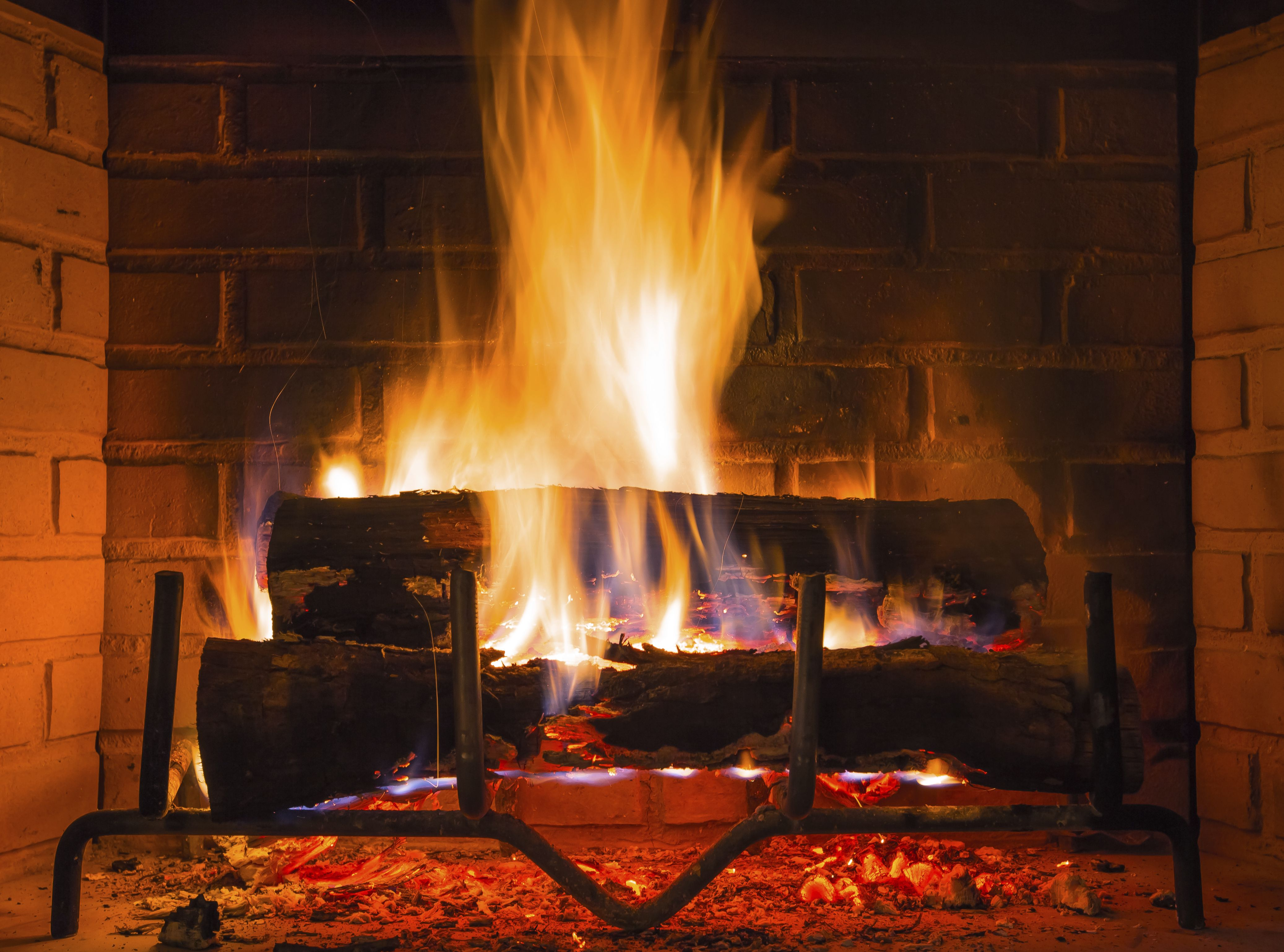 Burning wood in a fire place produces creosote   Chimneys ...