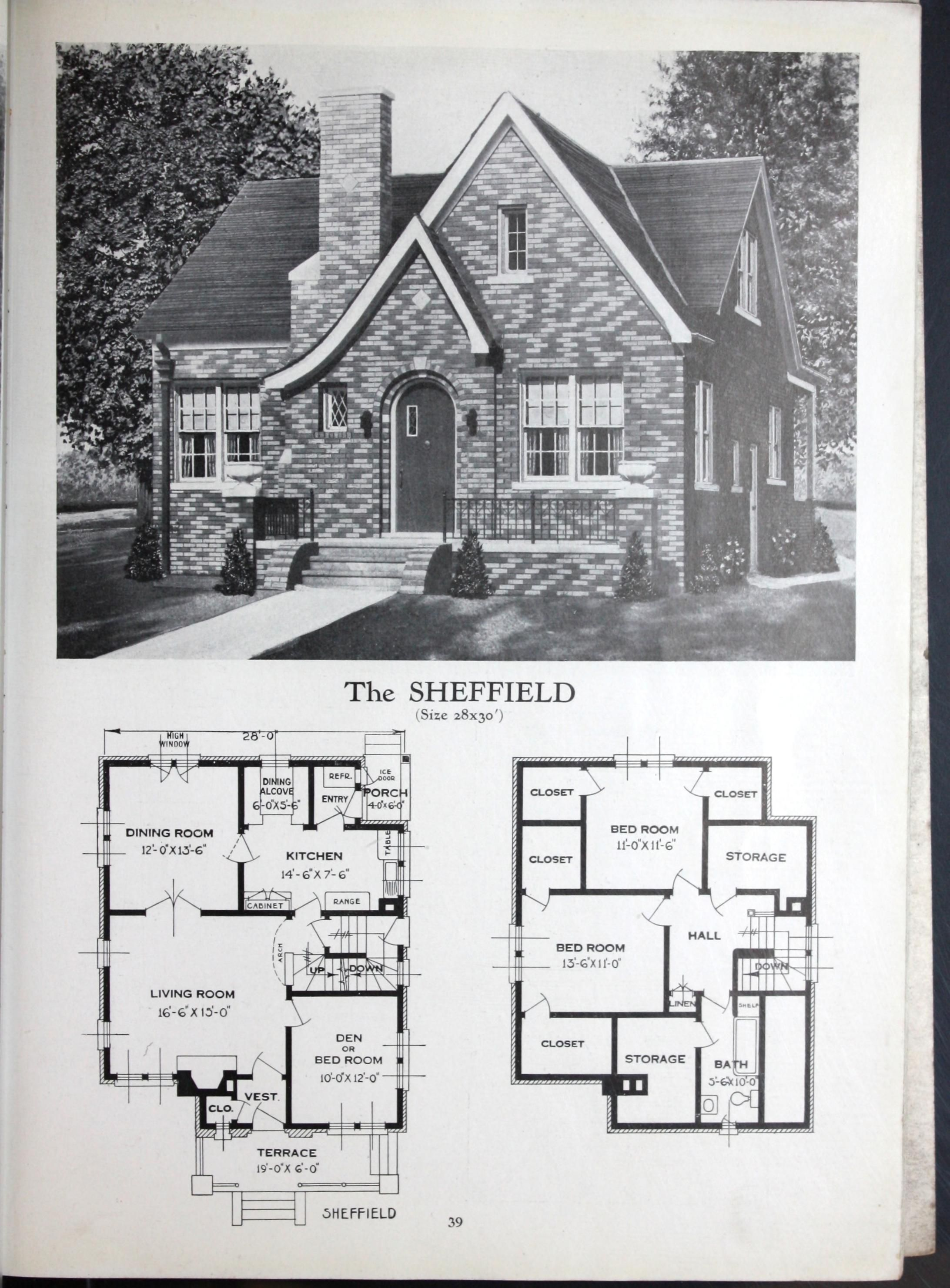 Vintage Home Plans House Plans With Pictures Cottage Style House Plans Vintage House Plans