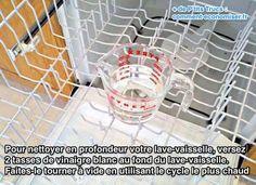 comment nettoyer facilement votre lave vaisselle avec du vinaigre nettoyer le lave vaisselle. Black Bedroom Furniture Sets. Home Design Ideas